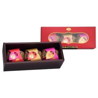 【一吉膳】圓圓鮑3入禮盒-即食紅燒鮑魚180g*3入 鮑平安、鮑幸福、鮑如意