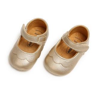 【橘魔法】經典圓頭軟膠片娃娃鞋(學步鞋 公主鞋 嬰兒鞋 娃娃鞋 鞋子 新生兒 0-24M)