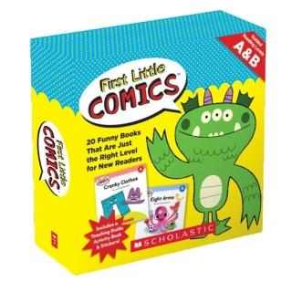 First Little Comics: Guided Reading Level A&B (20Books+1CD)