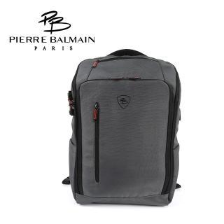【PB 皮爾帕門】多功能筆電後背包(防盜+充電埠+加大15%)
