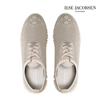 【ILSE JACOBSEN】女鞋 運動鞋 ADEA4072輕量運動鞋-淺灰(丹麥皇室品牌)