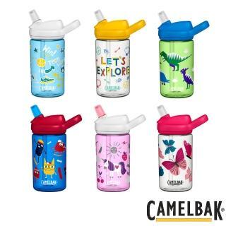 【CAMELBAK】eddy 兒童吸管運動水瓶 400ml(水杯/水壺/補水/戶外/露營)