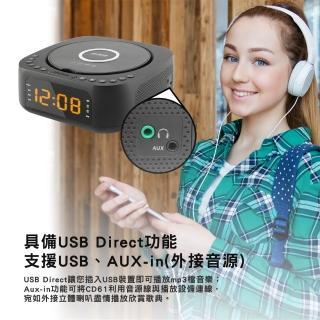 【Abee 快譯通】藍牙無線充電立體聲音響(CD61)