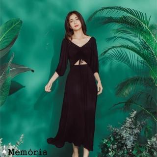 【Memoria】法式波希米亞長洋裝(洋裝)