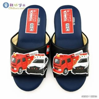 【童鞋城堡】室內拖鞋 TOMICA多美小汽車(TM0841-藍)