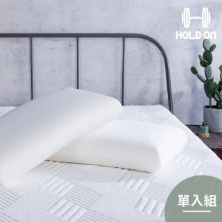 【HOLD-ON】舉重枕(兼具記憶枕包覆與乳膠枕彈性的親水棉枕-單入組)
