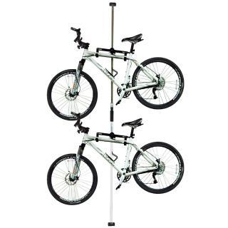 頂天立地自行車架(白)