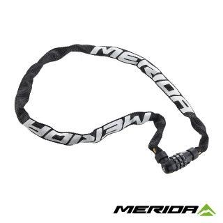 【MERIDA 美利達】密碼鍊條鎖 90cm(防盜/車鎖/單車/自行車)