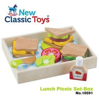 【New Classic Toys】午後時光輕食野餐18件組 -(10591)