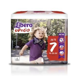 【麗貝樂】敢動褲 7號XXL 嬰兒尿布/尿褲 歐洲原裝進口 2020新升級(36片×6包/箱購)