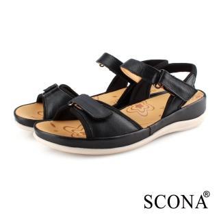 【SCONA 蘇格南】真皮 簡約舒適加州涼鞋(31064-1)