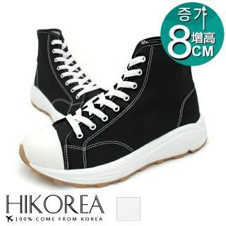 【HIKOREA】正韓製/版型正常。陽光男孩高筒增高8CM短靴(73-431共二色/現貨+預購)