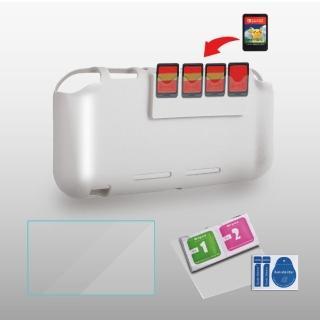 【ipega 艾柏祺】Switch Lite 三合一主機專用保護殼(透明款)