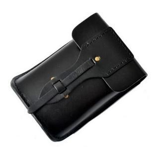 【米蘭精品】腰包真皮手機包(流行經典休閒男包情人節生日禮物mb04)