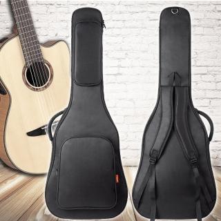 【美佳音樂】jinchuan 40-41吋 防水/厚棉/雙肩背帶 高級民謠吉他袋(吉他包)