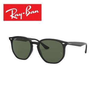 【RayBan 雷朋】時尚造型帥氣太陽眼鏡(黑綠色#4306F-601/7154)
