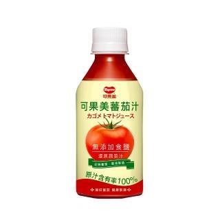 【可果美】100%蕃茄汁-無鹽(280ml*4)