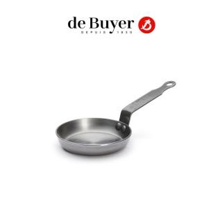 【de Buyer 畢耶】『原礦蜂蠟系列』傳統單柄迷你煎餅鍋12cm/鐵鍋
