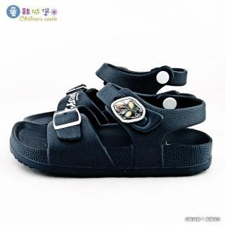 【童鞋城堡】羅布 室內外拖鞋 超人力霸王(UM4616-藍)