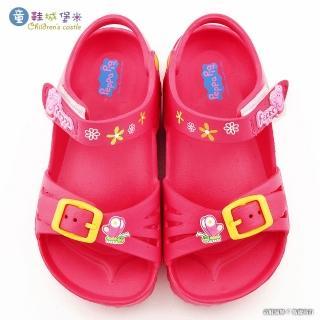【童鞋城堡】佩佩豬輕量涼鞋 粉紅豬小妹(PG4530-桃)