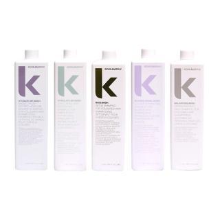【KEVIN.MURPHY】髮浴系列 1000ml(極限深層 彩虹天使 天降甘霖 極樂髮浴 平衡髮浴)