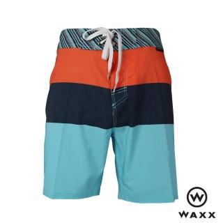 【WAXX】夢幻島快乾型男海灘褲-17英吋(多色)