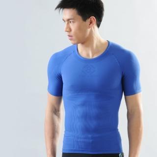 【Shaper MAN】機能壓縮肌力機能衣 [短袖](壓縮)