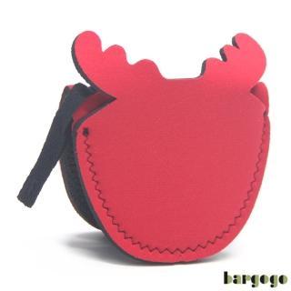 【bargogo】麋鹿造型隔熱手套-兩件(潛水衣材質)
