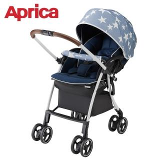 【Aprica 愛普力卡】Luxuna Cushion 嬰兒手推車