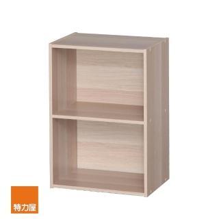 【特力屋】日本IRIS木質二空櫃-淺木色