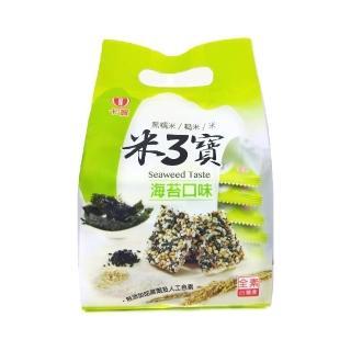 【卡賀】米3寶海苔口味160g(卡賀 米果 米香 餅乾 休閒食品)