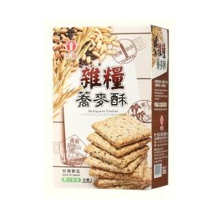 【卡賀】雜糧蕎麥酥酥200g(卡賀 方塊酥 餅乾 休閒食品)