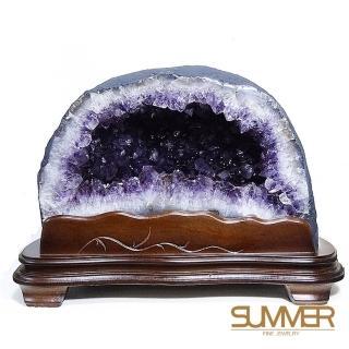 11月限定【SUMMER 寶石】巴西紫晶洞6-8公斤(隨機出貨)