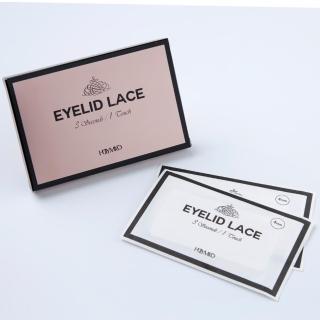 韓國隱形無痕網紗蕾絲雙眼皮貼單盒
