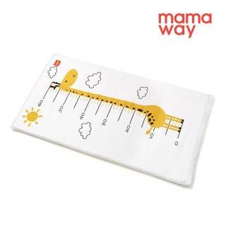 【mamaway 媽媽餵】長頸鹿芬蘭嬰兒床墊套(72*40cm)