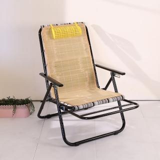【BuyJM】五段式蓆面涼椅(躺椅/折疊椅)