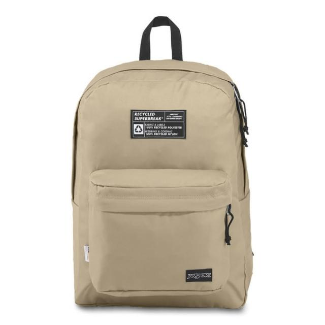 【JANSPORT】環保材質校園背包-RECYCLED SUPERBREAK(奧伊斯特)