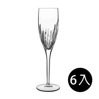 【義大利Luigi Bormioli】古典雕刻香檳杯-200ml(6入組)