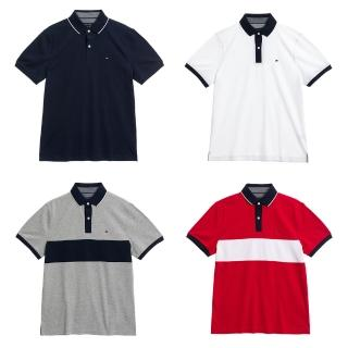 【Tommy Hilfiger】LOGO 百搭 休閒POLO衫 短袖(多款多色選)