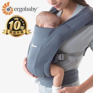 【Ergobaby】Embrace環抱二式初生嬰兒揹巾/揹帶(多款任選)