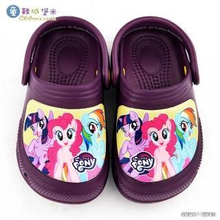 【童鞋城堡】兒童花園鞋 新彩虹小馬(MP0115-紫)