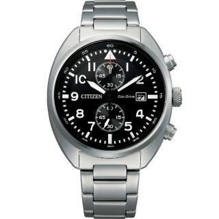 【CITIZEN 星辰】CITIZEN Eco-Drive 飛行員系列計時腕錶(CA7040-85E)