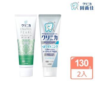 【LION 獅王】買1送1 固齒佳酵素亮白牙膏 任選2入-柑橘薄荷/百花薄荷