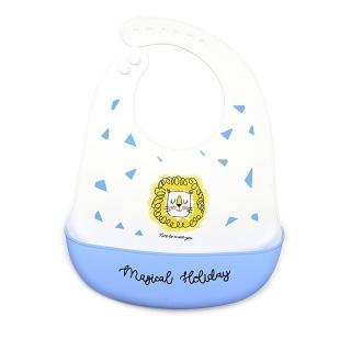【Baby 童衣】嬰幼兒矽膠圍兜 寶寶立體飯兜 防水防髒接飯飯兜 88494(共10款)
