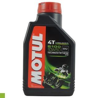 【MOTUL】4T 5100 10W50 1L(酯類合成機油)