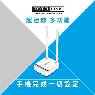 【TOTOLINK】N200RE 300Mbps迷你無線寬頻WiFi分享器(小宅專用 穩定NO.1)