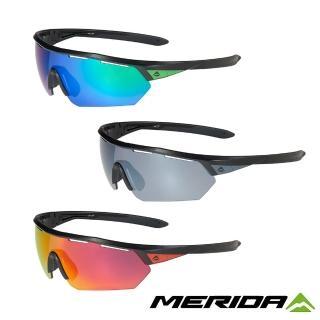 【MERIDA 美利達】自行車Sport 護目鏡 三色(太陽眼鏡/墨鏡/抗UV/路跑/單車/自行車)