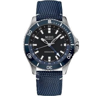 【MIDO 美度】Ocean Star 海洋之星 GMT雙時區 200米潛水機械錶(M0266291705100)