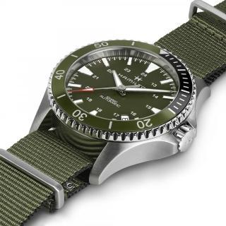 【HAMILTON 漢米爾頓】KHAKI NAVY 卡其海軍系列 SCUBA AUTO機械腕錶(H82375961)