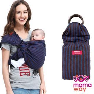 【mamaway 媽媽餵】藍莓布朗尼育兒哺乳背巾